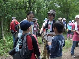 上野ディレクターとLOVEちゃんが 子供の参加者にインタビュー、学ばせてもらいました